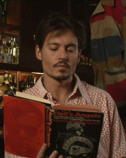 """Johnny Depp Reading """"Hell's Angels"""" by Hunter S. Thompson"""