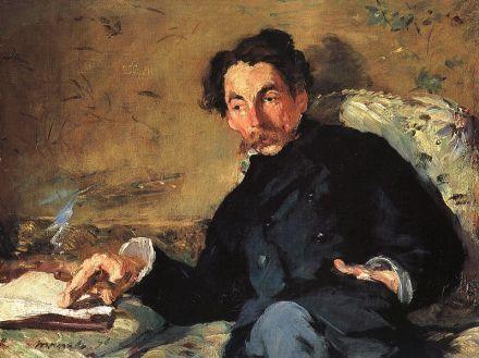 Manet's Stéphane Mallarmé portrait