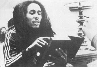 Bob Marley reading