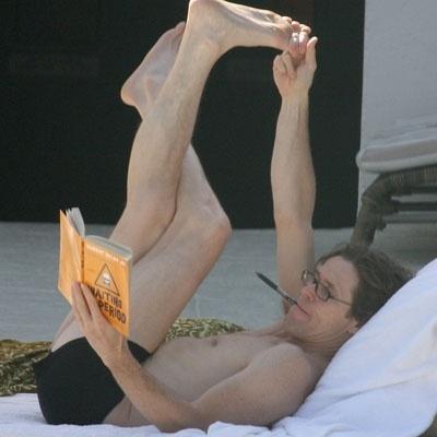 Willem Dafoe reading