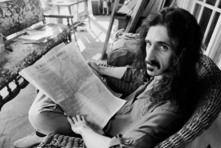 Frank Zappa Reading The Wall Street Journal